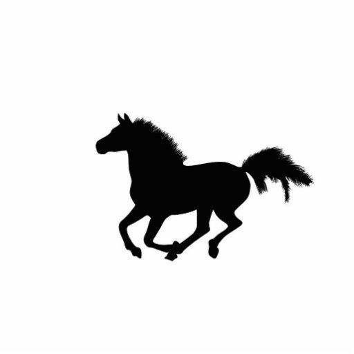 Escultura galopante del caballo, idea del regalo escultura fotografica