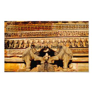 Escultura, Gujarat, la India Fotografía