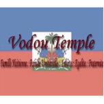 Escultura haitiana de la bandera del VT Escultura Fotográfica