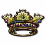 Escultura jeweled real de la foto de la corona escultura fotográfica