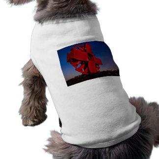 Escultura moderna ropa de perro