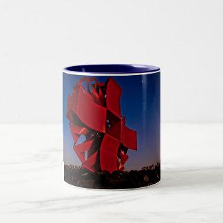 Escultura moderna taza de café
