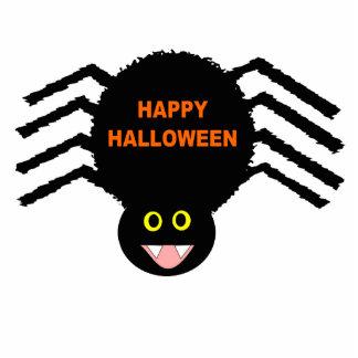 Escultura negra de la foto de la araña de Hallowee Fotoescultura Vertical