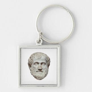 Escultura principal de Aristóteles Llavero Personalizado