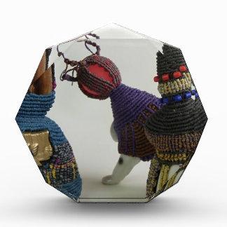Esculturas anudadas de la porcelana