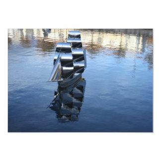 Esculturas de una invitación del barco