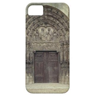 Esculturas porta y circundantes con el fi bíblico funda para iPhone SE/5/5s