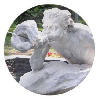 Escupitajo y escupido - PARQUE del CONGRESO Plato