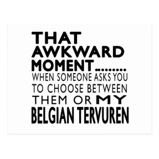 Ese belga torpe Tervuren del momento Tarjetas Postales