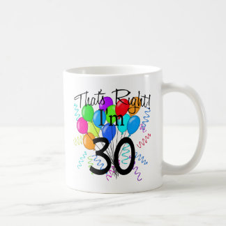 Ése correcto que soy 30 - cumpleaños taza de café
