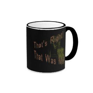 Ése era yo taza de café