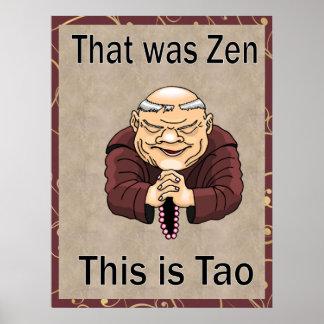 Ése era zen, éste es Tao Impresiones