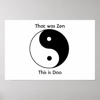 Ése era zen póster