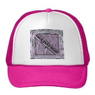 ¡Ése es apenas cajón! - Madera rosada - Gorras De Camionero