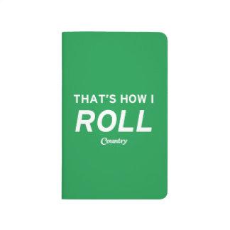 Ése es cómo ruedo cuaderno