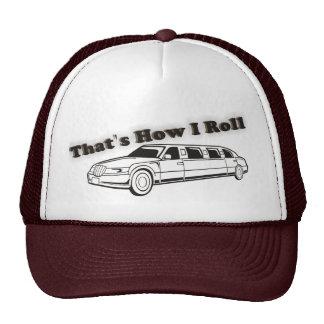Ése es cómo ruedo el gorra del Limo de la escuela