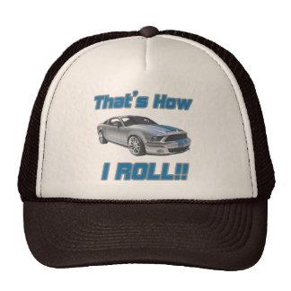 Ése es cómo ruedo el mustango gorras