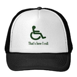Ése es cómo ruedo gorra