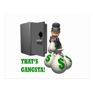 Ése es Gangsta Tarjeta Postal