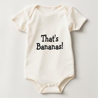 Ése es plátanos mameluco de bebé