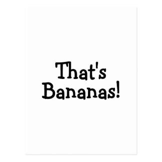Ése es plátanos postal