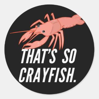 Ése es tan pegatina de los cangrejos