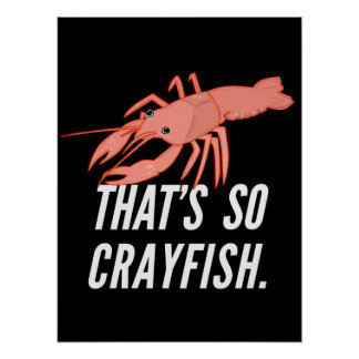 Ése es tan poster de los cangrejos