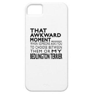 Ese momento torpe Bedlington Terrier iPhone 5 Coberturas