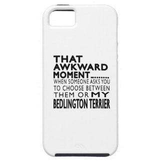 Ese momento torpe Bedlington Terrier iPhone 5 Case-Mate Funda