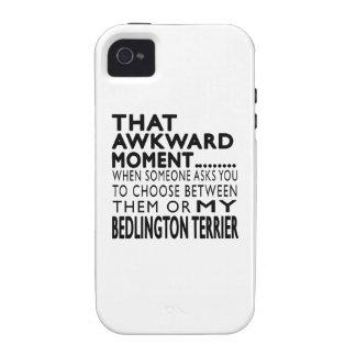 Ese momento torpe Bedlington Terrier iPhone 4/4S Fundas