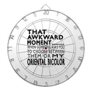 Ese momento torpe Bicolor.Designs oriental Tablero Dardos