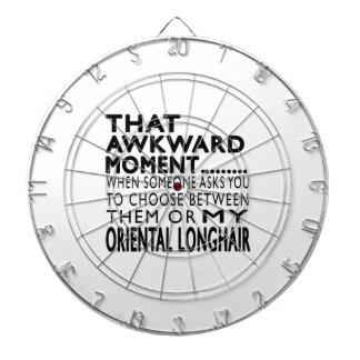 Ese momento torpe Longhair.Designs oriental Tabla Dardos