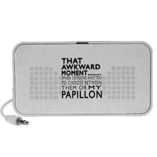 Ese momento torpe Papillon iPhone Altavoces
