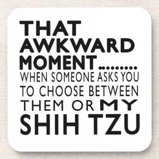 Ese momento torpe Shih Tzu Posavaso