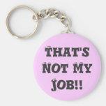¡Ése no es mi trabajo!! Llaveros