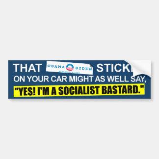Ese Obama - pegatina de Biden - Obama anti Pegatina Para Auto