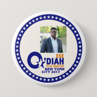 Ese O'Diah for NYC Mayor 2017 Pinback Button