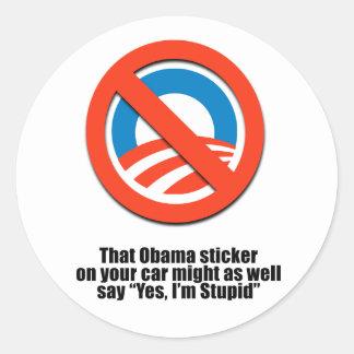 Ese pegatina de Obama pudo también decir que sí so