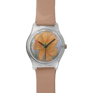 Esencia anaranjada relojes de pulsera