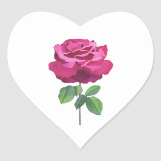 Esencia color de rosa colcomanias corazon