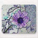 Esencia de la flor - mousepad alfombrillas de ratones