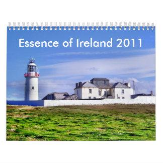 Esencia del calendario de Irlanda 2011