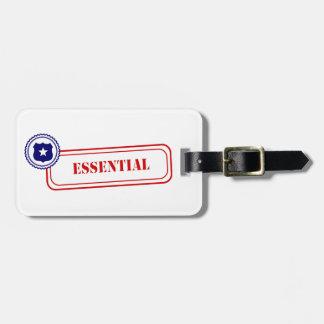 Esencial • Aplicación de ley Etiquetas De Maletas