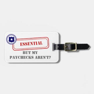 Esencial • Aplicación de ley Etiquetas Para Maletas
