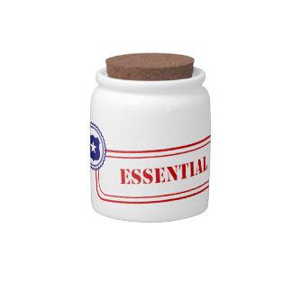 Esencial • Aplicación de ley Jarra Para Caramelo