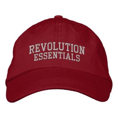 Esencial de la revolución - gorra bordado gorro bordado