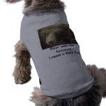 Esencial del oso camisa de mascota