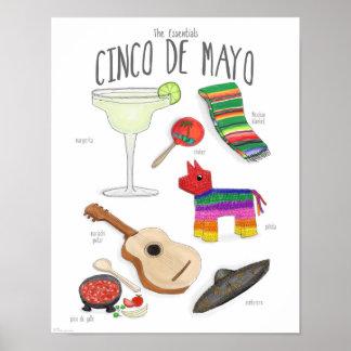 Esencial: Poster de Cinco de Mayo