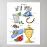 Esencial: Poster de Derby del caballo