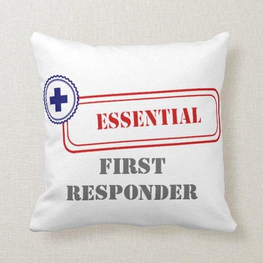 Esencial • Primer respondedor Cojines